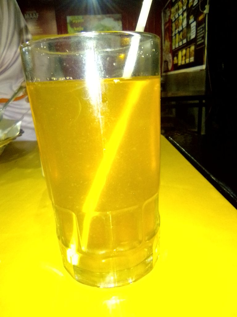 lemon tea ayam preksu
